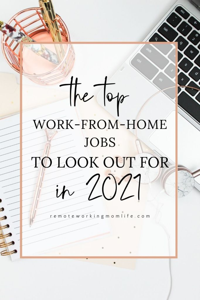 top work from home jobs