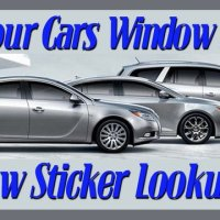Find Your Cars Window Sticker Using The VIN Number - Window stickers for cars by vin