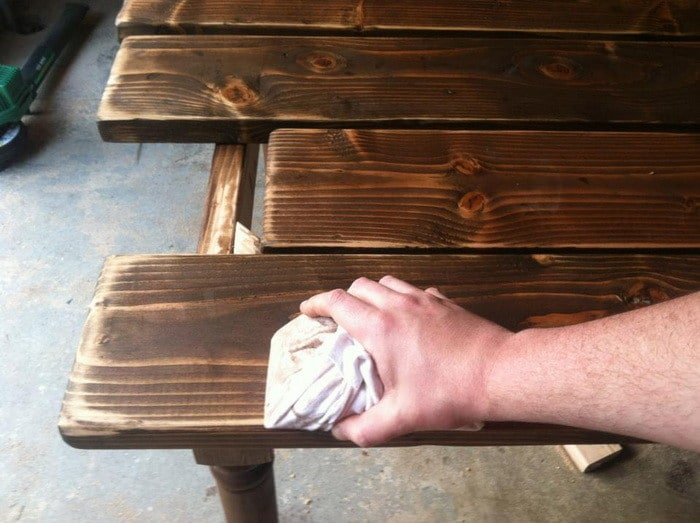 Making A Dining Table