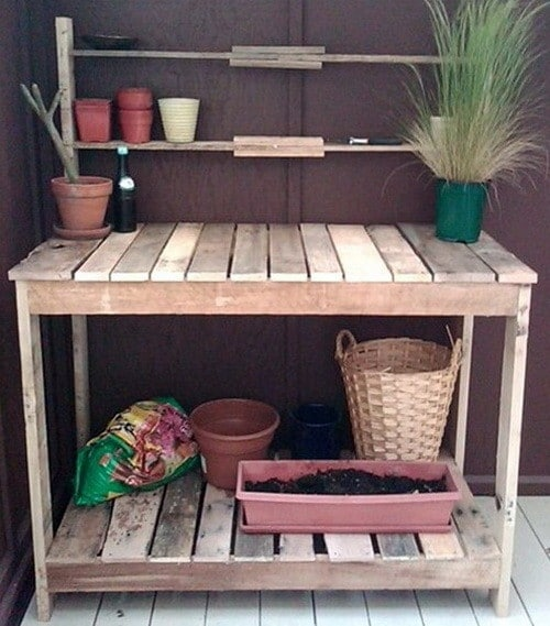 Image Result For How To Make A Coffee Table From A Palleta