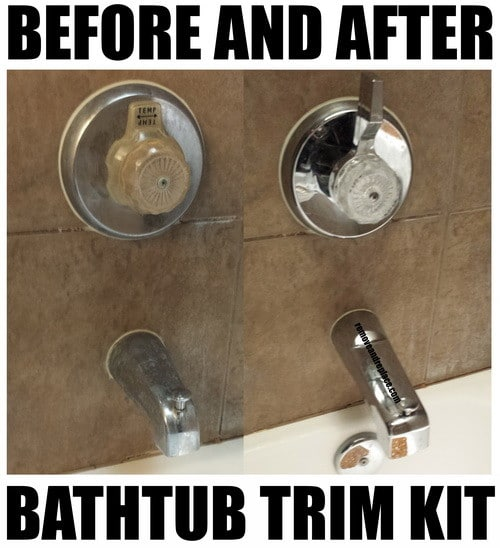 How To Update A Bathroom With Low Cost Bathtub Shower
