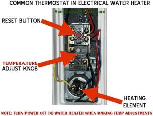 How To Change The Temperature On Your Electric Water
