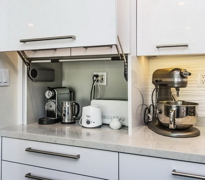 40 appliance storage ideas for smaller kitchens | removeandreplace