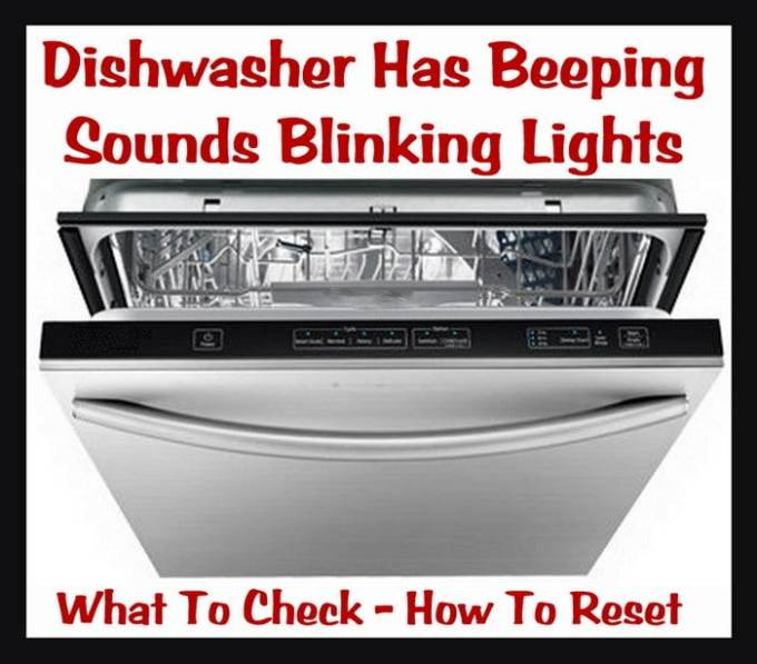 Maytag Dishwasher Troubleshooting Cancel Light Flashing