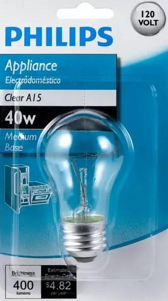 Refrigerator Light Bulb Home Depot