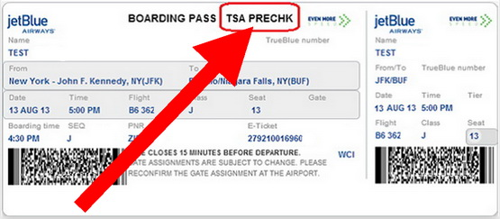 My Airline Boarding Pass Does Not Have Tsa Precheck On It