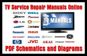 TV Service Repair Manuals  Schematics and Diagrams