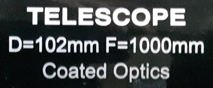 TelescopeLabel