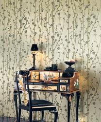 textile wallpaper example