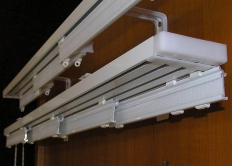 cornice for Japanese curtains