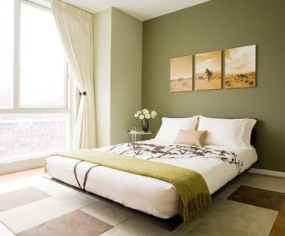 design of a small bedroom minimalism
