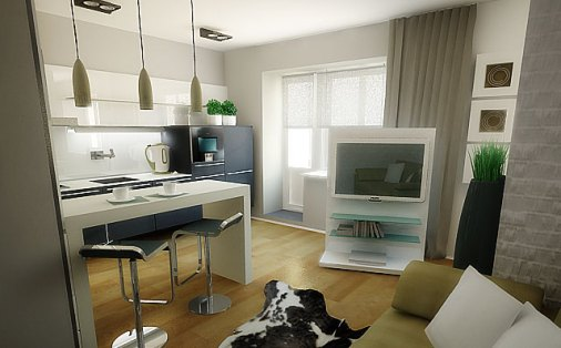 design of small apartments minimalism 2