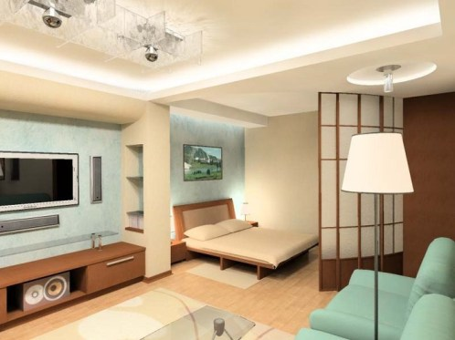 design of small apartments color 2