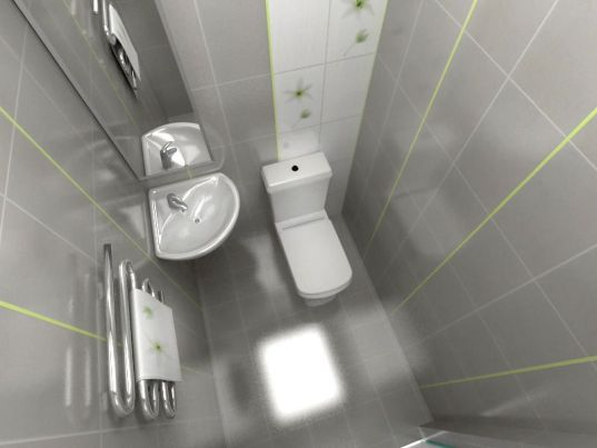 small toilet color 3