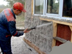 wall insulation with ecowool 2