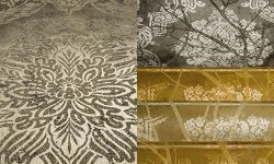 metallic wallpaper selection