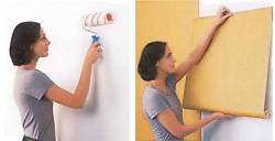 non-woven wallpaper how to glue
