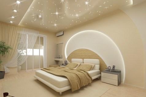 decorative lighting in the bedroom