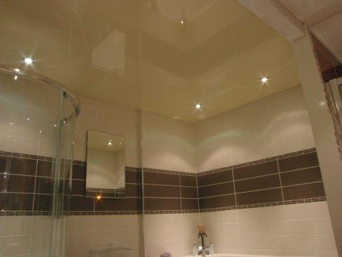redecorating bathroom ceiling