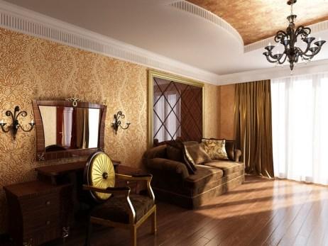 linkrust wallpaper for living room