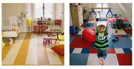 marmoleum for the floor in the nursery