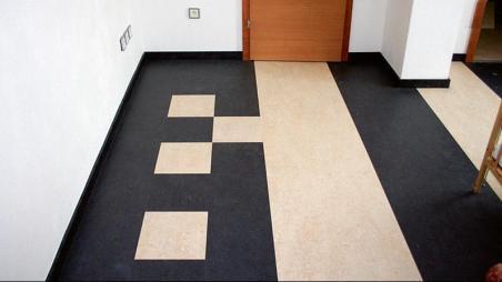 hallway marmoleum