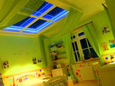 general lighting of the nursery 2