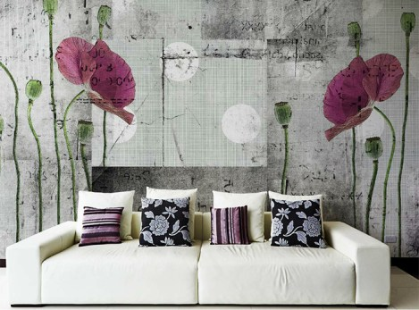 wall decoration with fabric 5