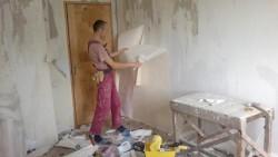 preparation for bedroom renovation