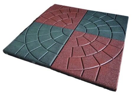 rubber tile shape 3