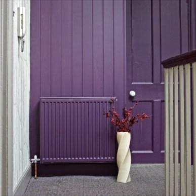 hide heating radiator painting