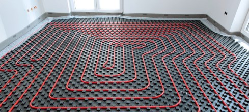 XLPE pipes for underfloor heating