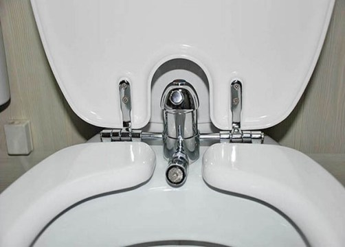 toilet with bidet function