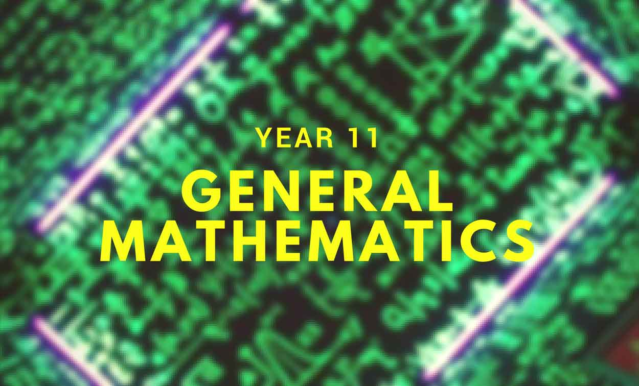 Adelaide Year 11 General Mathematics Tuition