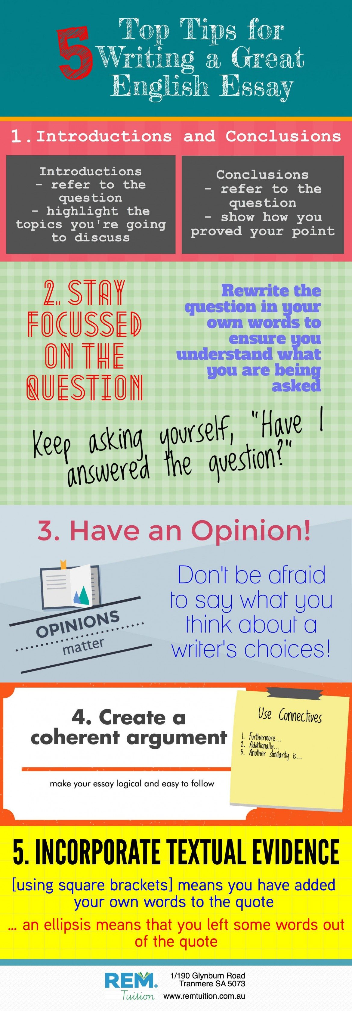 Essay Writing Tips for English