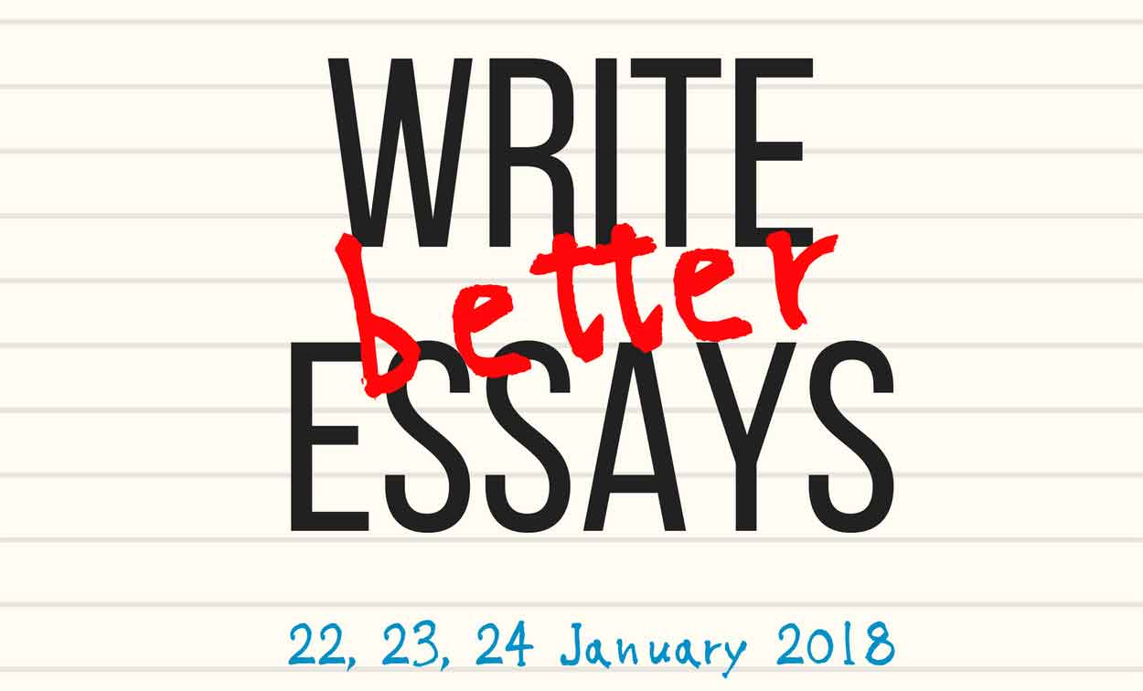 Write Better Essays — Adelaide Secondary Students