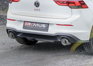 exhaustssystems exhaust system vw golf 8 gti gpf back remus