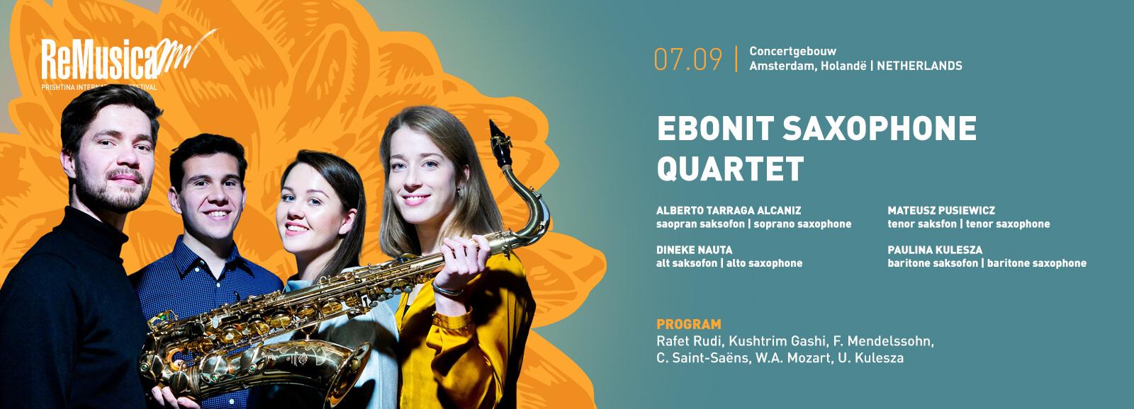 Edonit Saxophone Quartet