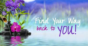 Find Your Way Back To You!