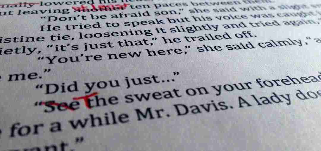 Novel Editing: 5 Tips to Tackle the Necessary Evil