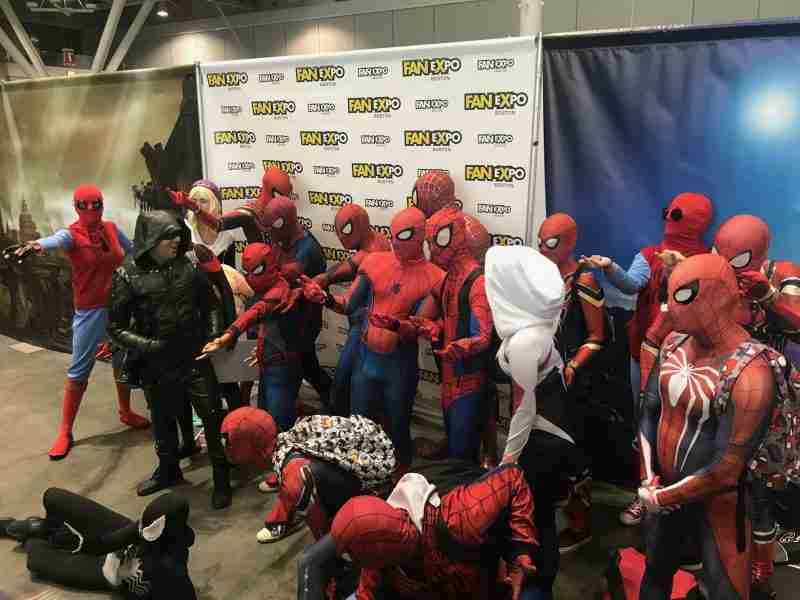 Boston Comic Con 2018