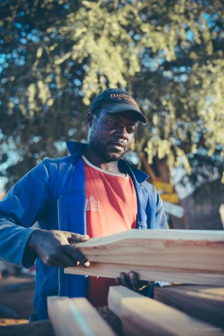 i am | the appraisal, looking for a suitable piece of wood for my work. Auas Road, Windhoek, Namibia.