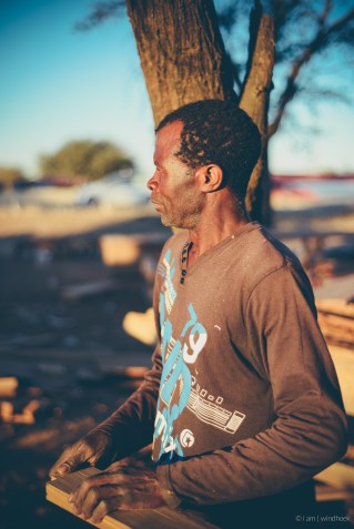 i am | the one who ensures deadlines are met. Auas Road, Windhoek, Namibia.