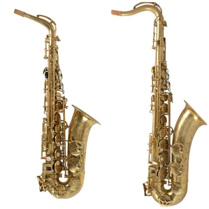 Remy Alt en tenor saxofoon
