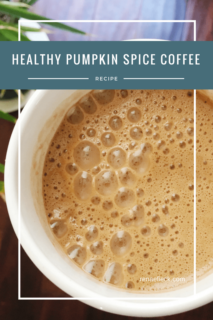 [Recipe Alert!] Healthy Pumpkin Spice Latte
