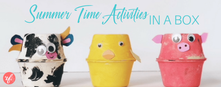 Summertime Activities for Kids (in a box!)
