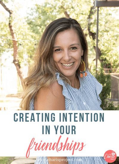 Creating Intention in Your Friendships with Jeanette Tapley