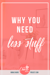 need less stuff