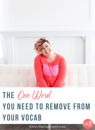 The One Word You Need to Remove from Your Vocab with Stephanie Bagley