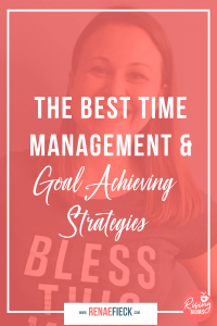The Best Time Management and Goal achieving strategies with Cara Harvey -91